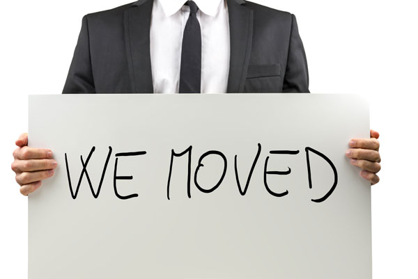 Moving? Update Your Online Listings